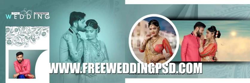 free wedding invitation psd templates