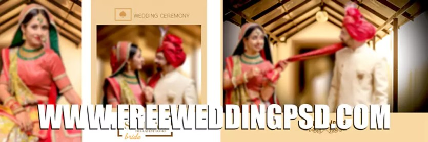 free psd wedding album templates