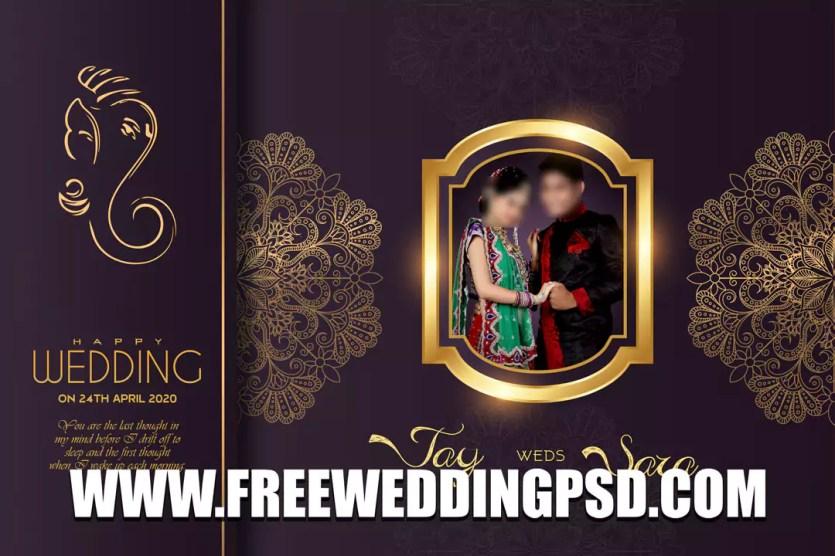 wedding album pad design 2021 full edit