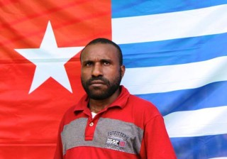 Victor Yeimo, Chairman of the KNPB and political prisoner