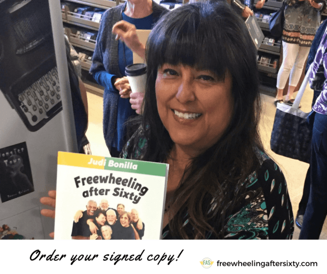 Buy a signed copy of Freewheeling After Sixty
