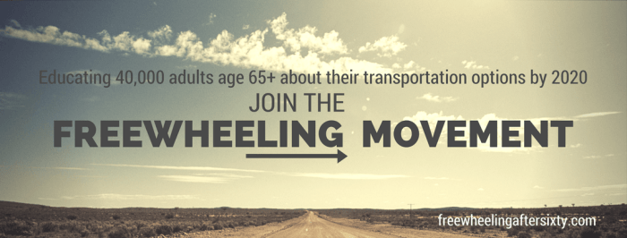 Freewheeling After Sixty - Senior Transportation