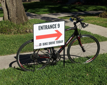 Houstonians have been very generous with their old bikes.