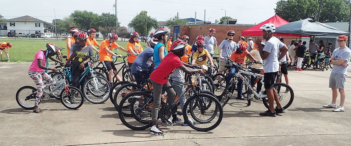 BikeHouston helped keep bike skills training going smoothly.