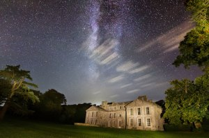 Milky Way over Appuldurcombe House