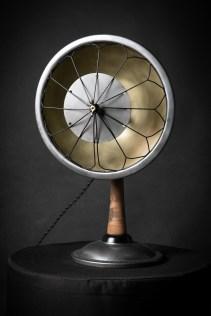 lampe vintage ventilateur