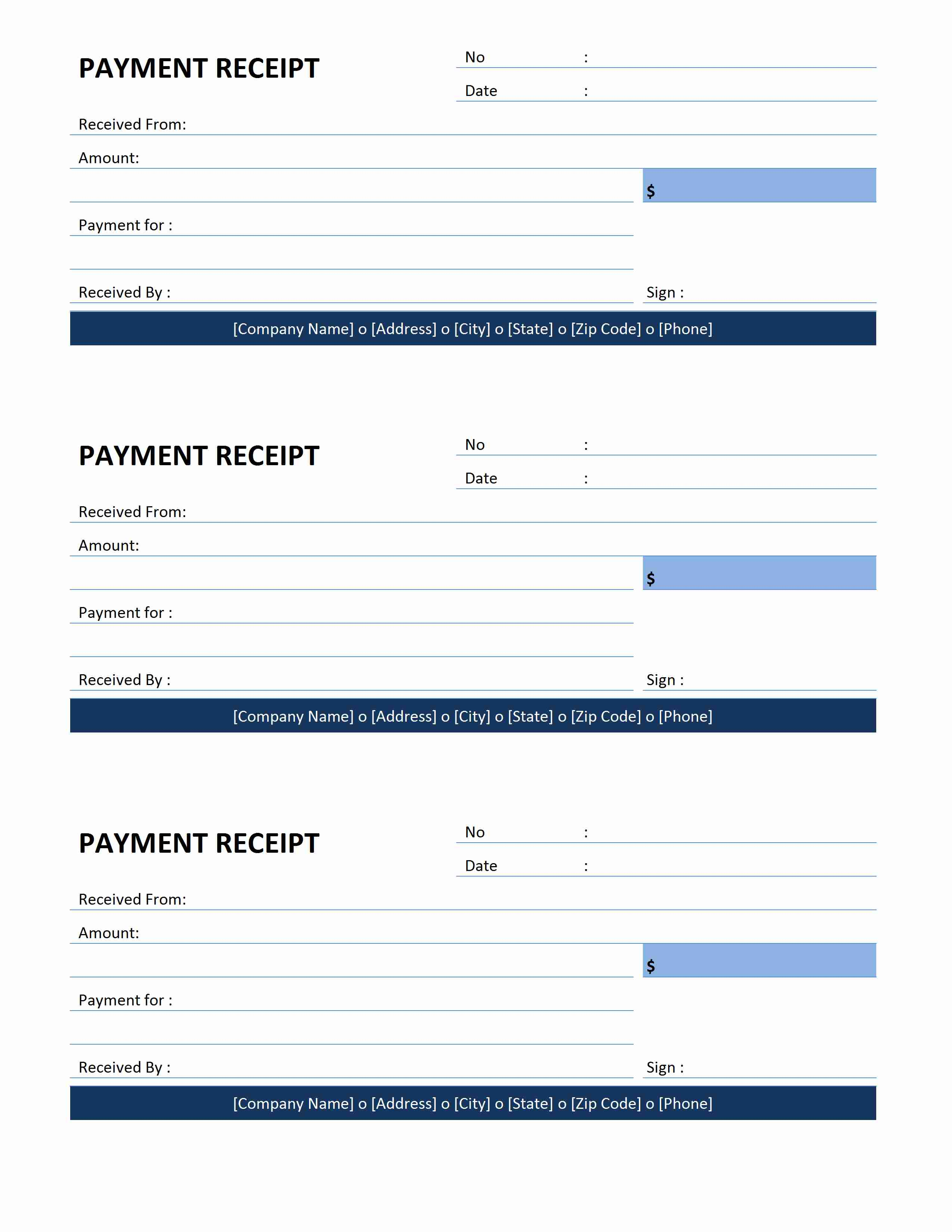 Image Result For Money Receipt Template  Money Receipts