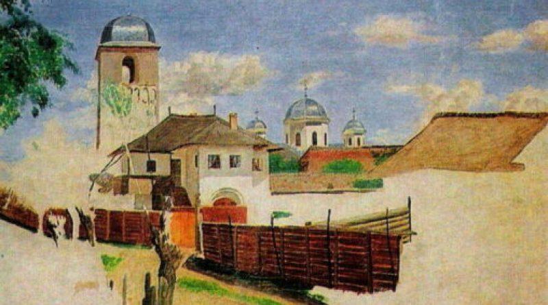 Ion Negulici - Peisaj din Câmpulung