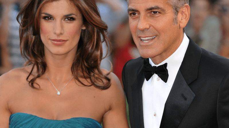 George Clooney și Elisabetta Canalis