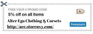 Alter Ego Clothing Discount Code Corset Waist Training