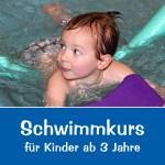 Schwimmkurs für Kinder ab 3 Jahre