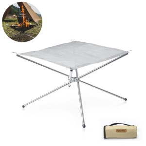 Naturehike Folding Charcoal Grill Camping Kochen BBQ Grill Rotisserie Grill