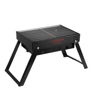Alocs Picknick im Freien BBQ Ofen Holzkohleofen Klappgrill Grill tragbare Charbroiler Camping Wandern