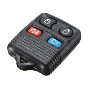 4 Buttons Keyless Remote Key FOB Hülle Cover für Ford Lincoln