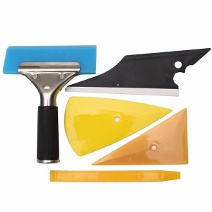 5pcs Auto Fenster Tinting & Wrapping Installation Werkzeuge Kit Set Contour Squeegee