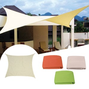 3m Sun Shade Segeltuch Shadecloth Outdoor Canopy Patio Square Cover UV Block