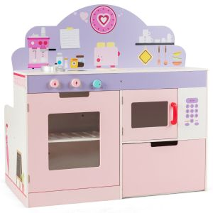 2 in 1 Kid's Kitchen & Diner Role Play Set