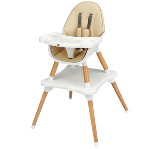 4 in 1 Modern Baby High Chair with Safety Harness