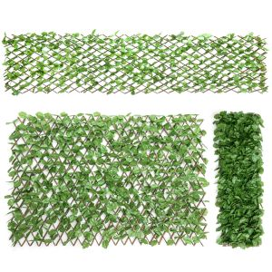 Artificial Expanding Ivy Covered Trellis x3