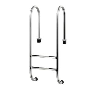2-Step In-Ground Stainless Pool Ladder