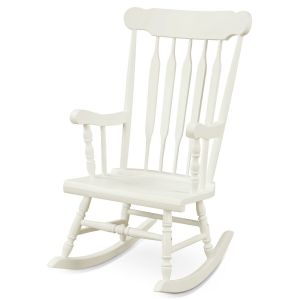 Vintage Styled Wooden Rocking Chair