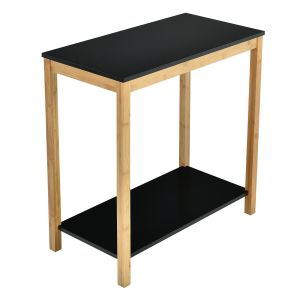 Bamboo Framed Console Table