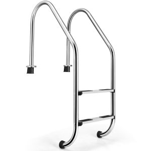 2-Step In-Ground Swimming Pool Ladder