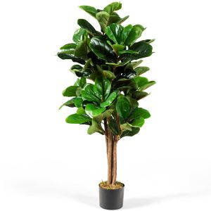 Decorative Artificial Fiddle Leaf Fig Tree for the Home and Office