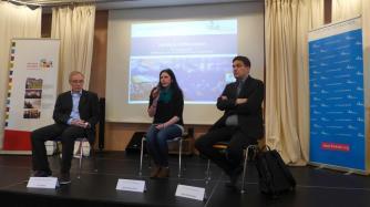 Juri Durkot - Moderatorin Anikó Merten - Boris Reitschuster