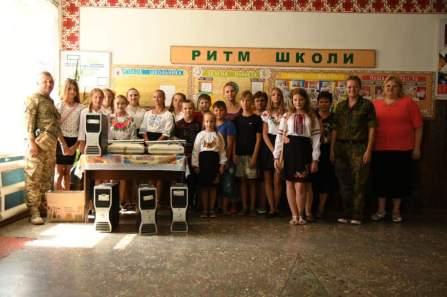 Allgemeinbildende Schule in Dmytrivka