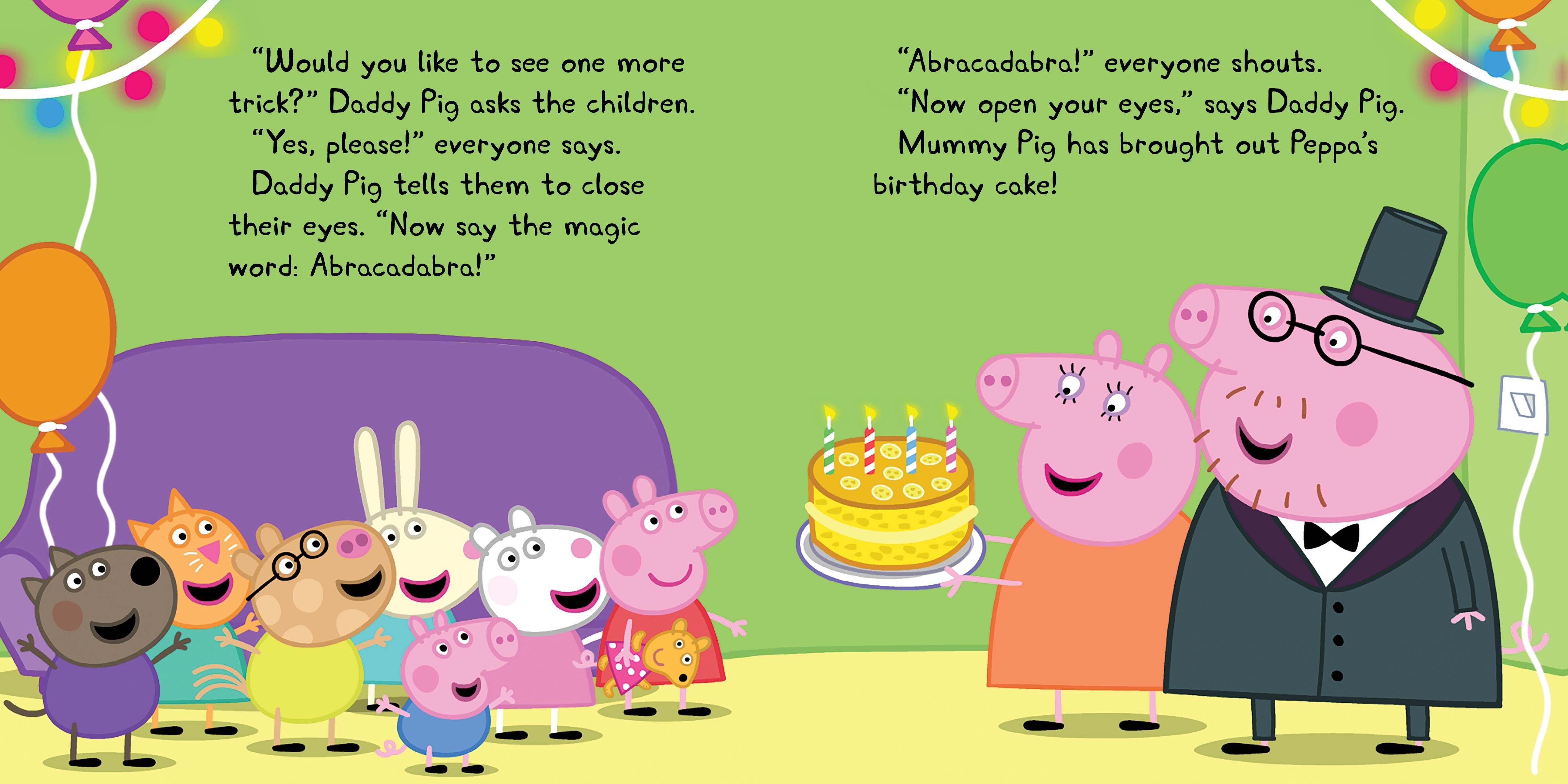 Happy Birthday Peppa Pig Cartoon Images