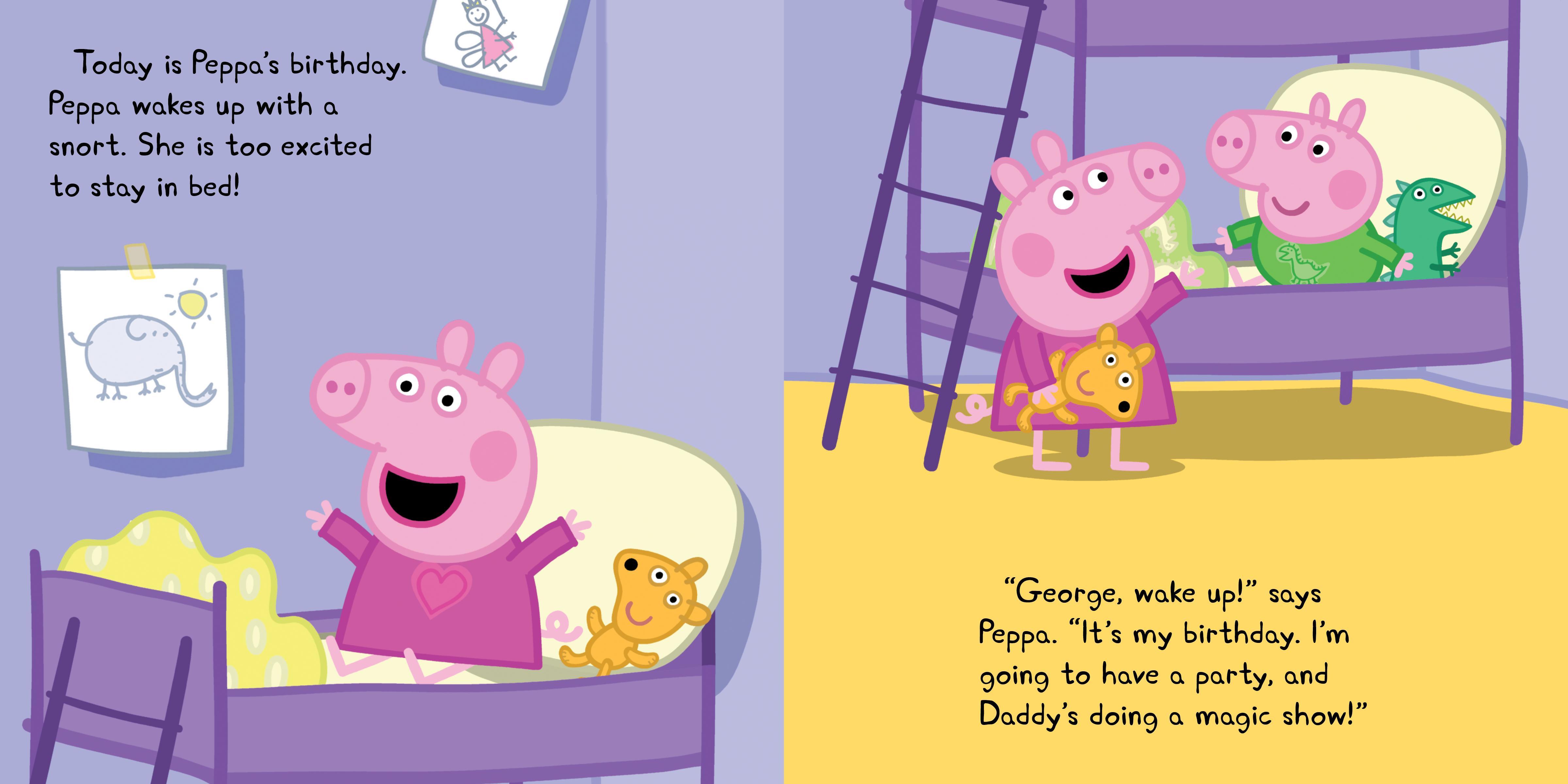 Peppa Pig Happy Birthday Mercedespadro
