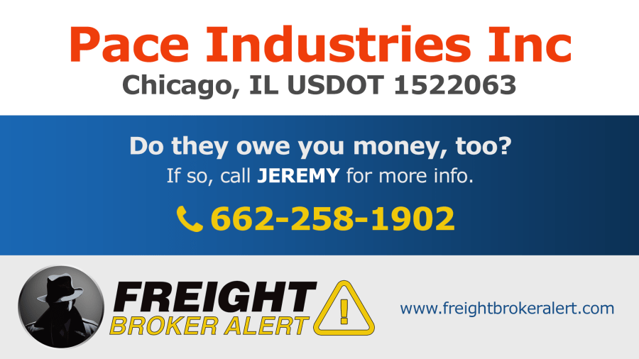 Pace Industries Inc Illinois