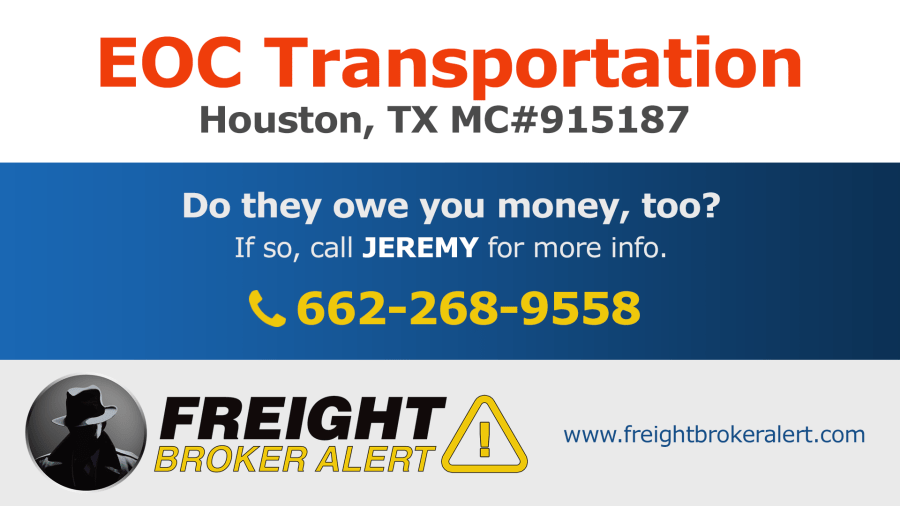 EOC Transportation Texas