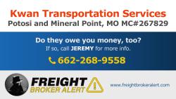 Kwan Transportation Services Inc Missouri