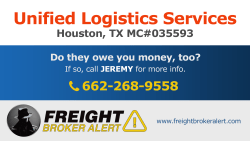 Unified Logistics Services LLC Texas
