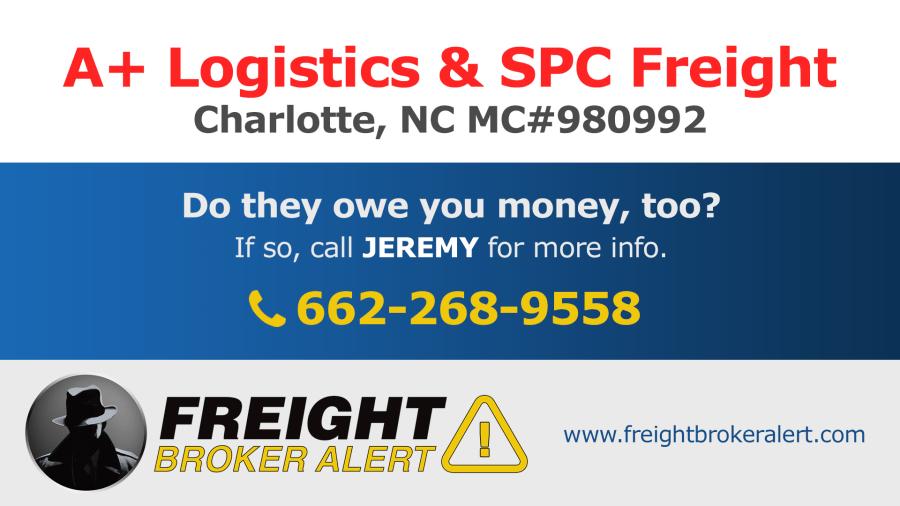 A+ Logistics Group LLC North Carolina