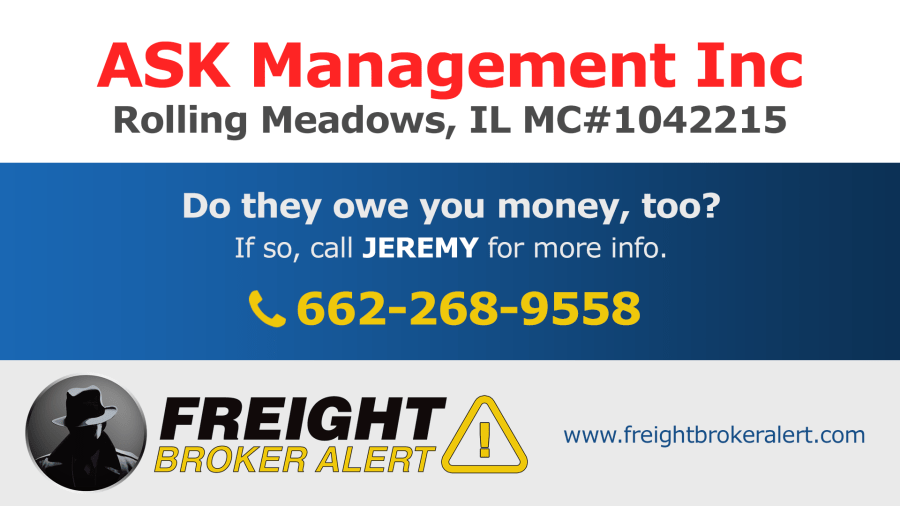 ASK Management Inc Illinois