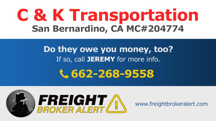 C & K Transportation California