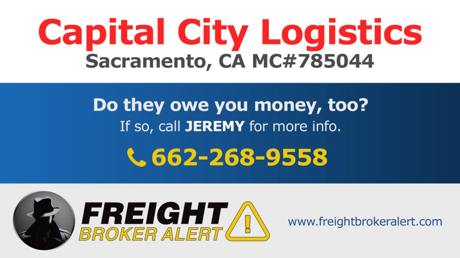 Capital City Logistics California
