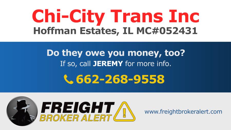 Chi-City Trans Inc Illinois