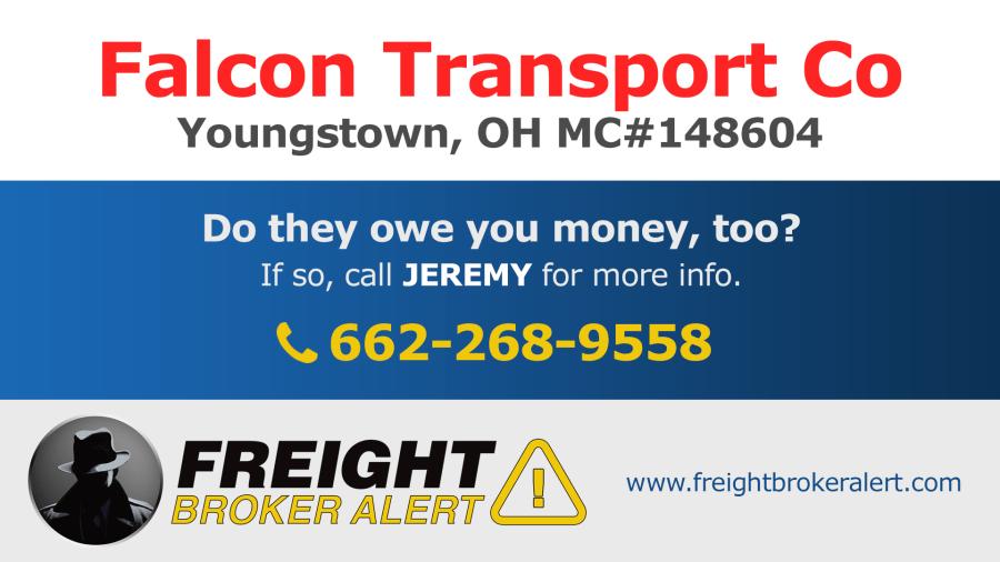 Falcon Transport Co Ohio