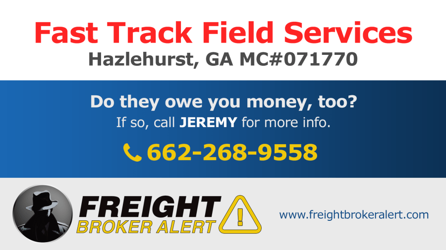 Fast Track Field Services Inc Georgia