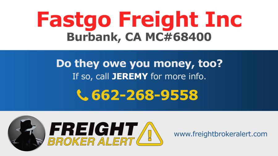 Fastgo Freight Inc California