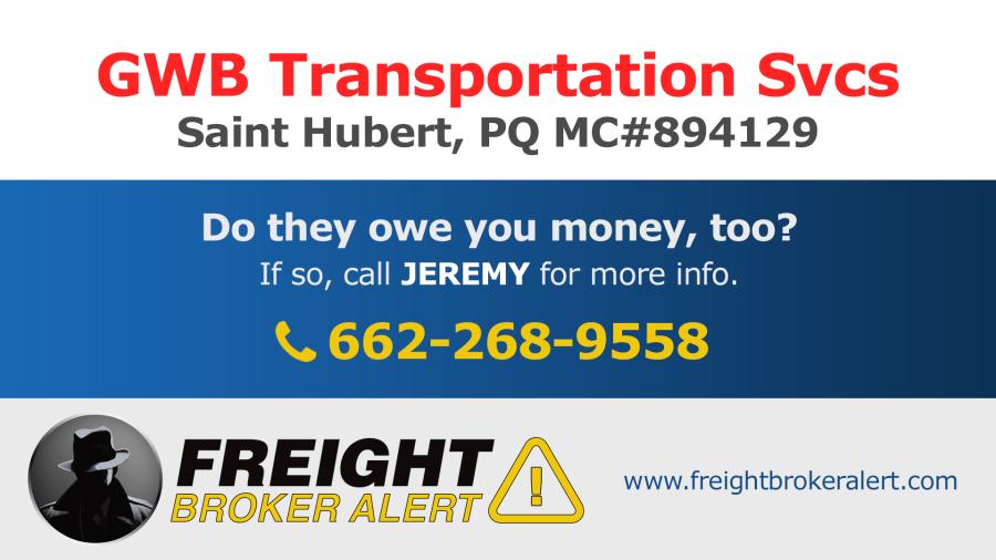 GWB Transportation Services Quebec