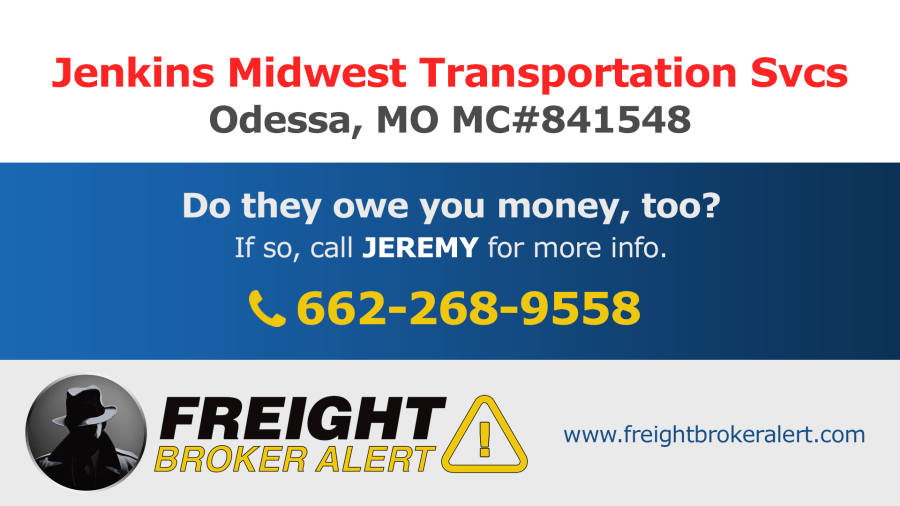 Jenkins Midwest Transportation Services Inc Missouri
