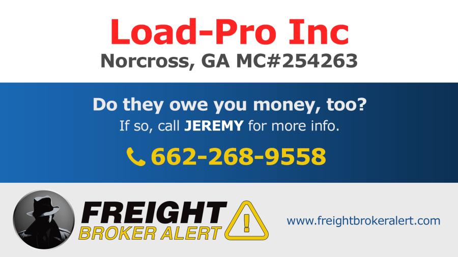 Load-Pro Inc Georgia