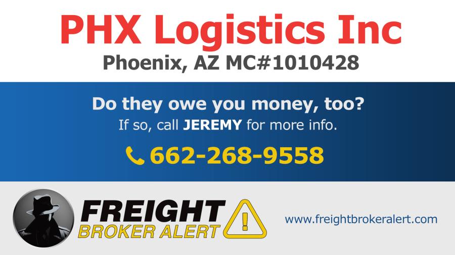 PHX Logistics Inc Arizona