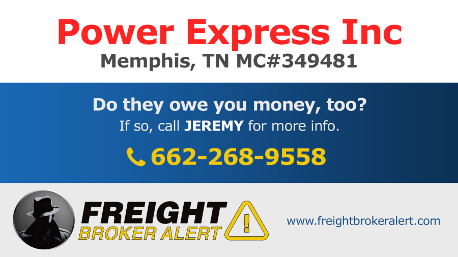 Power Express Inc Tennessee