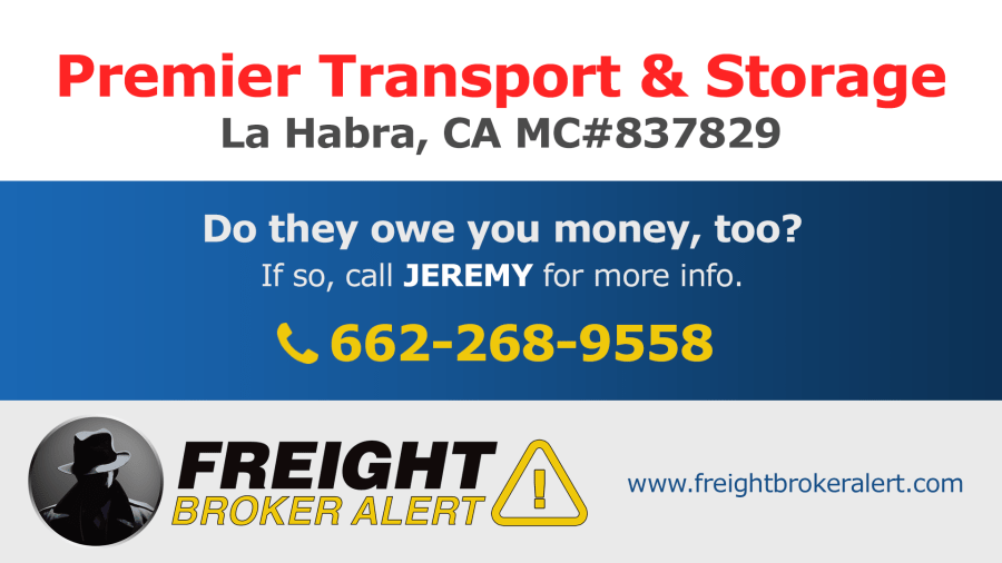 Premier Transport & Storage California